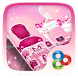 Pink Girl GO Launcher by GO T-Me Launchers