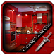 Red Kitchen Units Design by Mortal Strike