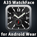 A35 WatchFace for Android Wear by Smartwatch Bureaux