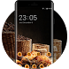Bread and Coffee Theme: Love Life HD Wallpaper by Mobo Theme Apps Team