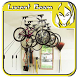 Hanging Bikes Garage Ideas by Lucent Beam