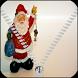 Santa Claus Zipper Lock Screen by Dhwani Infotech