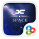 X Space GO Launcher Theme by ZT.art