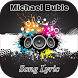 Michael Buble Song Lyric by Jack Black