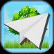 Paper plane by Gleyderh