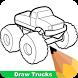 How To Draw Trucks by Teachopolis