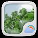 Windy Day Weather Widget Theme by GO Dev Team X