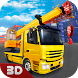 Cargo Crane & Car Driver 3D by Life Sim Games