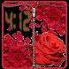 Zipper Lock Screen :Red rose by Media Games