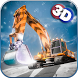 Snow Excavator & Dump Truck 3D by FlipWired 3D Games