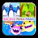 Lagu Baby Shark, Monkey, Penguin