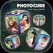 3D Photo Cube live wallpaper by Photo Suit Studio