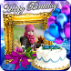 Happy Birthday Photo Frame by Apps Cottage
