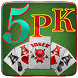 Five Silver 5PK(Poker) by OneChapter Studios