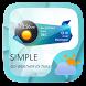 Simple Weather Widget Theme by GOMO Go