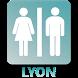 Toilettes à Lyon by wpetit