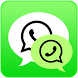 Dual Whatsapp® 2016 by Ndan Ndin Studio