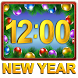 New Year Clock Widget by Level Pro