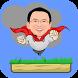 Ahok Jumping Man by Balasyik Studio