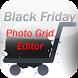 Black Friday Photo Grid Editor by Crosoft.My
