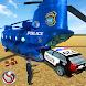 Police Transporter Game Police Car Transport Truck