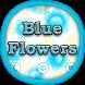 GO Locker Blue Flowers by BestThemes