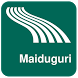 Maiduguri Map offline by iniCall.com