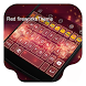 Red Fireworks -Kitty Keyboard by Kitty Emoji Keyboard Design