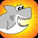 Fatty The Shark by Compota Studios LLC