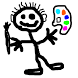 Finger painting for kids by CoolNess Studios
