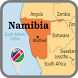 Namibia Map by MAP Directions Online