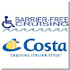 Barrier-Free Costa Cruises by TARGETED Apps