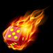 Flaming Yatzy - Ignited Dice by Eudokia Apps