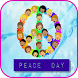 world peace day greeting card by Jordan App Kingdom