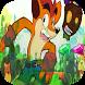 Super Fox Bandi Temple Adventure Jungle runer city