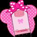 Pink Cute Minny Bowknotpassword Lock Screen by LOCK SCREEN
