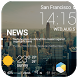 Beautiful News Weather Widget by Amber Widgets Dev Team