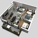 3d interior design by Hendi App