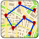 Mobile Location Tracker on Map by sagaapps