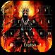 Grim Reaper Keyboard Theme by cool wallpaper