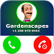 Fake Call From Gardenscapes by Bob Call Apps