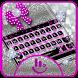 Twinkle Minny Bowknot Keyboard Theme by Fashion Cute Emoji