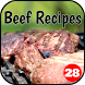 350+ Beef Recipes by 28Apps Company