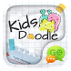 (FREE) GO SMS KID DOODLE THEME by ZT.art