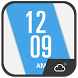 Simple Fancy Clock Weather by Weather Widget Theme Dev Team