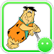 Stickey The Flintstones by Awesapp Limited