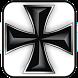 Iron Cross black doo-dad by Dark Matter Lab