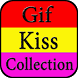 Gif Romantic Kiss Collection by Creative Gif Store