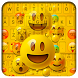 Smile Emoji Keyboard Theme by Input theme