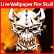 Fire Skull Live Wallpaper by LiveWallpaperThemes